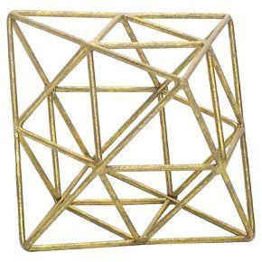 Geo Figural Large Gold - Room Essentials™