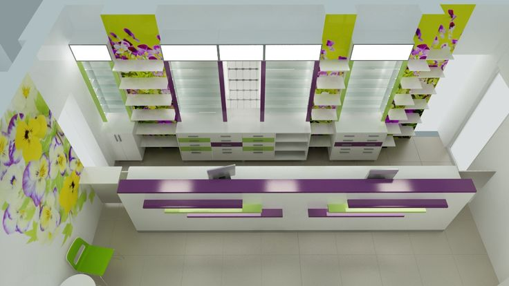 Amenajare farmacie - mobilier modern http://www.sertarefarmacii.ro/