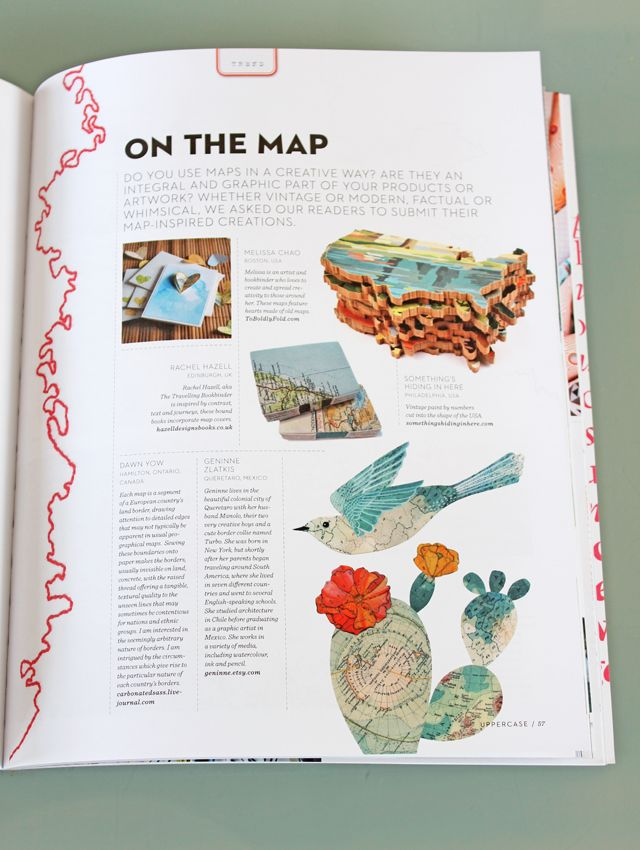 Geninne's Wonderful MapWork...Geninne Zlatkis, Book Worth, Art Journals, Graphics Design, Editoriales Book Art, Geninne Features, Geninne'S Wonder, Art Projects, Crafts Maps