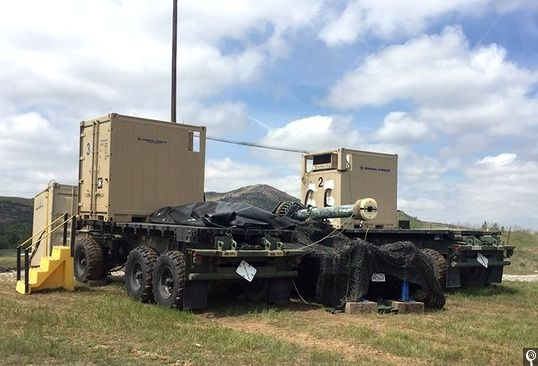 Next Big Future: General atomics railgun has successful tests which will lead to army truck based railgun system