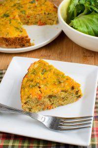 Syn Free Lentil Cheddar Bake   Slimming Eats - Slimming World Recipes