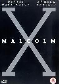 Malcolm X DVD Denzel Washington, Angela Bassett, Delroy Lindo, Spike Lee, Alber