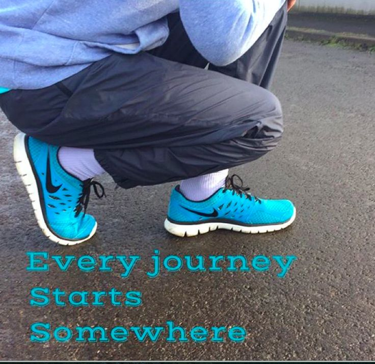 The hardest part is taking the first step