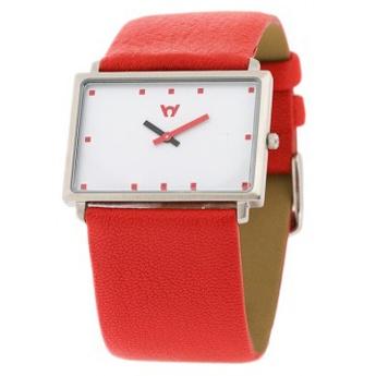 Reloj Watchcelona Clear 3 rectangular Rojo. http://www.tutunca.es/watchcelona
