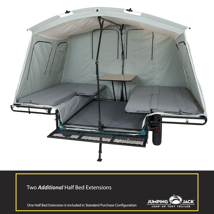 Tent Trailer Accessories | Jumping Jack Trailers build your own tent trailer!