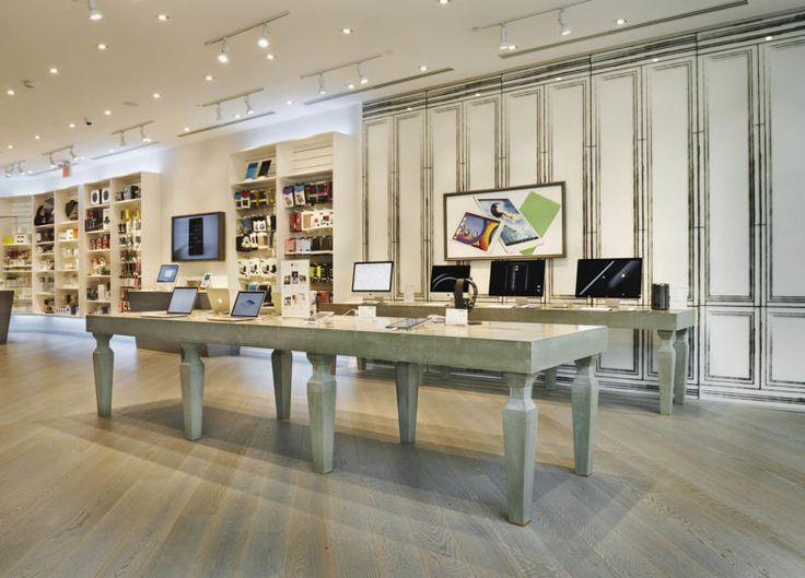 Concrete Display Tables, Mac Outpost2 - London, Ontario
