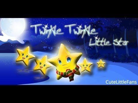 Twinkle Twinkle Little Star Nursery Rhymes   Poem   Video   By  CuteLitt...