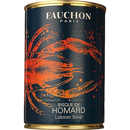 National Lobster Day: OMG! FAUCHON Lobster bisque soup PD