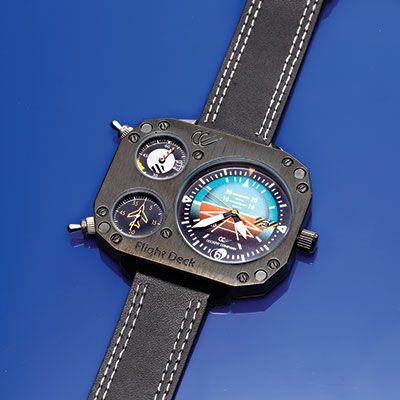 Flight Deck Attitude Indicator Watch $99.99