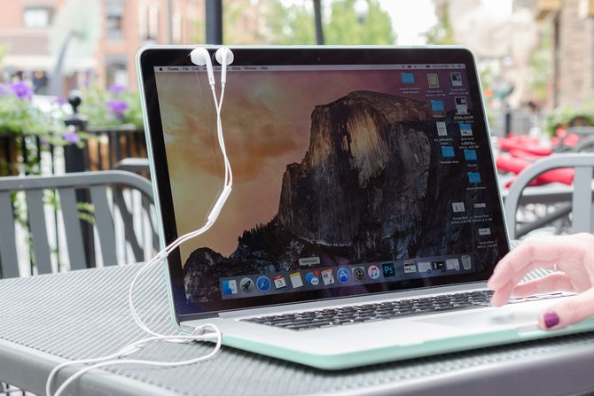 If you have a MacBook, your ear buds will stick to the screen.