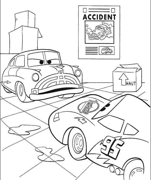 pixar christmas coloring pages - 110 best images about cars from disney on pinterest