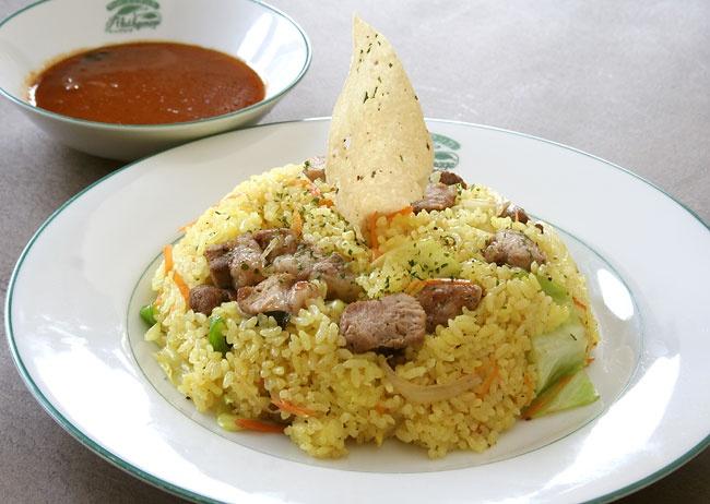 Pork fried rice #pork #SriLanka