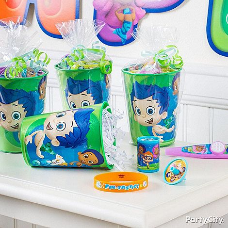 Best 25 bubble guppies party supplies ideas on pinterest bubble guppies birthday bubble - Bubble guppies party favors ideas ...