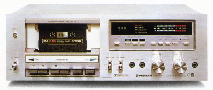 Pioneer CT-620  1980