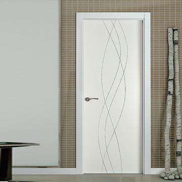 Image of San Rafael Lacada Flush Door - Model 988 White Painted