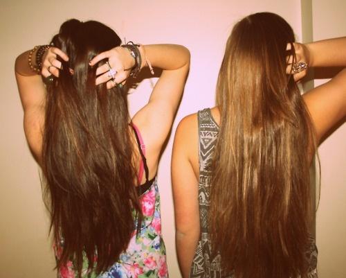 brown hair.
