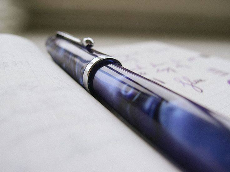 Noodler's Neponset Semi-Flex Music Nib Fountain Pen Review