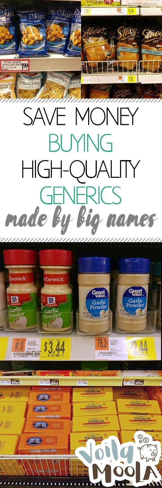 Save Money Buying High-Quality Generics Made by Big Names| Save Money, Money Saving Hacks, Save Money With these Tips, Money Saving 101, #SaveMoney #SaveMoneyShopping