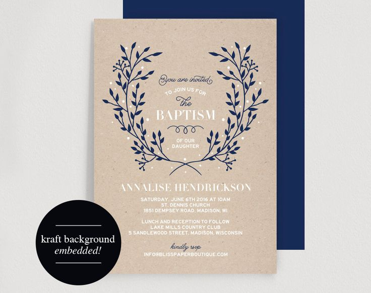 Baptism Invitation Printable Pdf Kitchen And Living Space Interior