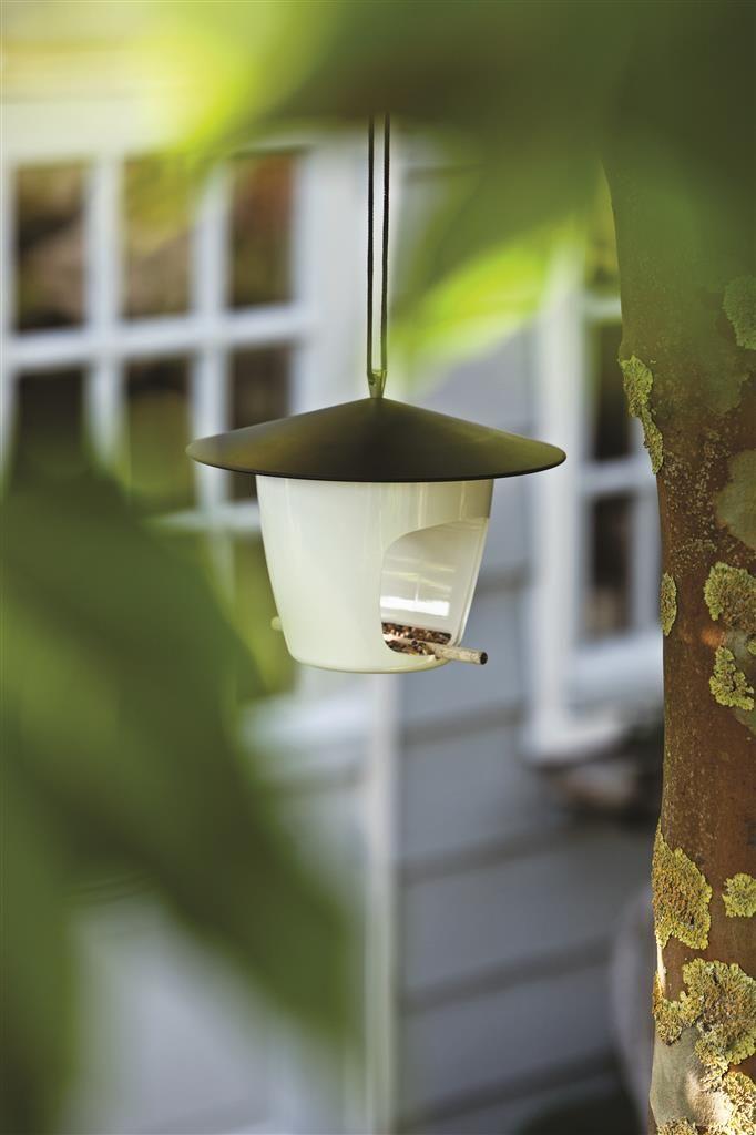 Hoot bird feeder, black | XD Design