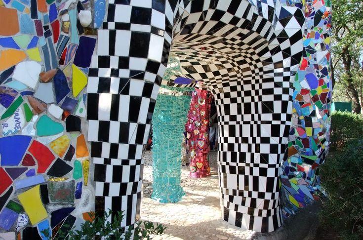 Il Giardino dei Tarocchi a #capalbio #maremma #toscana