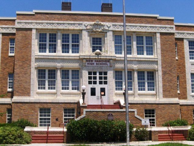 New Hanover High School 1307 Market St Wilmington, NC 28401