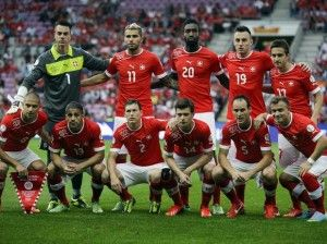 FIFA World Cup 2014 Brazil Switzerland  Switzerland was eliminated from the World Cup, after they lost 1-0 to Argentina.