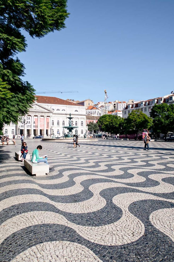 10 Shopping Hotspots & Places to Visit in Lisbon - Rossio Square
