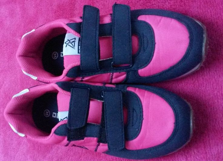 Tennis shoes Trainers Girl  Size 35 (EU) (2 Uk) Never used, Sport, Pink Blue