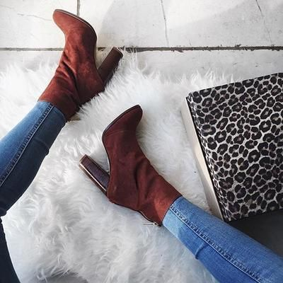 Autumn we're ready for you #regram @smythsisters #ImWearingRI #Riverisland #70s #suede  #covetme