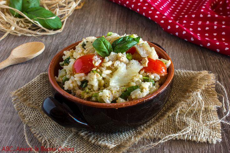 Insalata+di+riso+con+pisellini+e+merluzzo