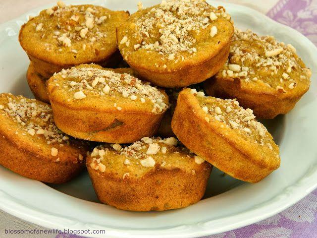 Multigrain Pumpkin & Almond Muffins  #multigrain #wholefoods #wholegrain #muffins #oatflour #cornmeal #wholewheat #riceflour #pasturedeggs #homemadebutter #sourmilk #pumpkin
