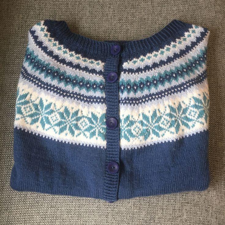 Nancygenser strikket i Viking Baby ull.