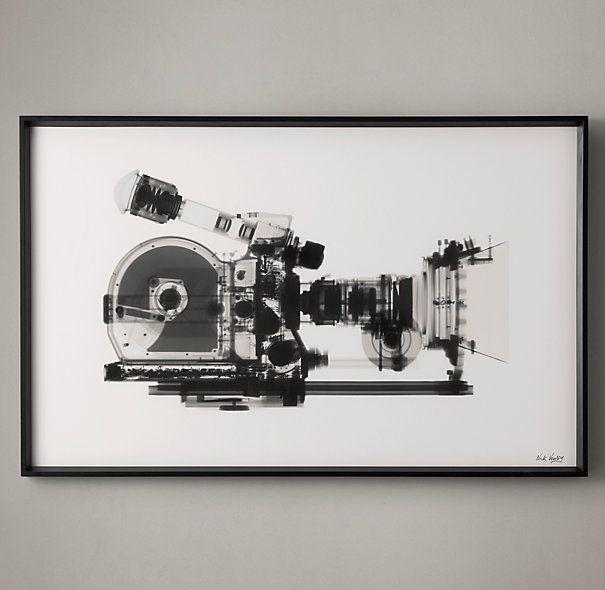 Nick Veasey X-ray Photography: Movie Camera
