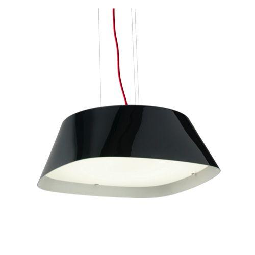 Glamox Luxo - A65-P530 - moffice.dk. #design #belysning #kontor #pendel #indretning #lampe #sort #hvid