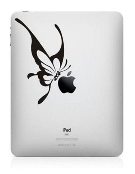 funny-creative-ipad-decal-butterfly