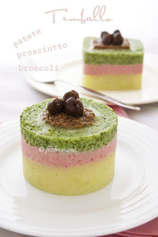 Timballo patate, prosciutto e broccoli (fiordirosmarino)