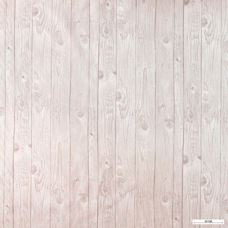 815869 Vævet m grå/sand planke print