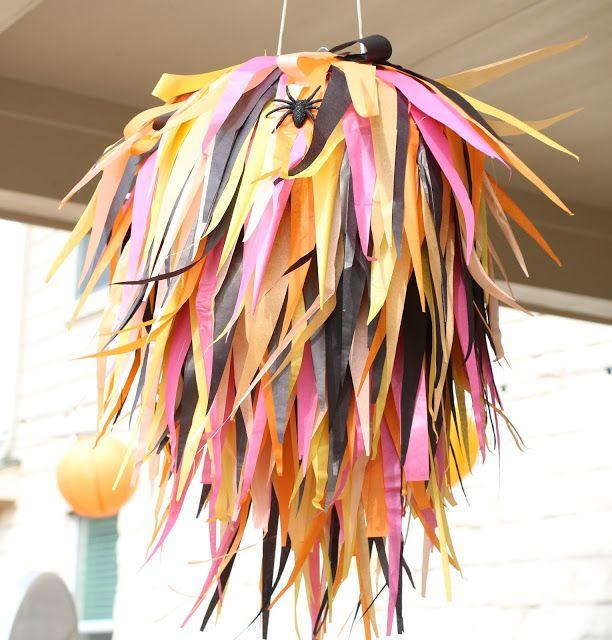 Halloween Party Recap - The Decorations. birthday, party decorations, birthday games.