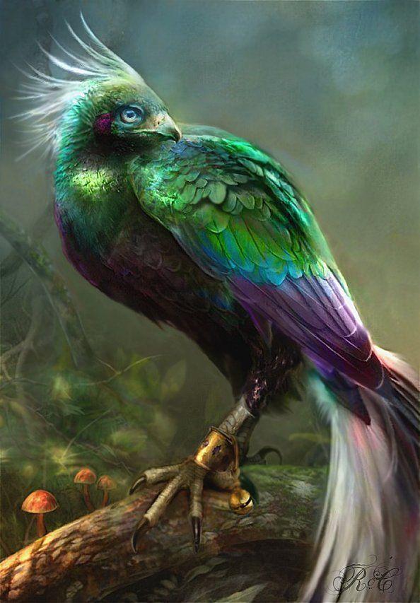 [Fantasy art] Astranci by caelicorn at Epilogue