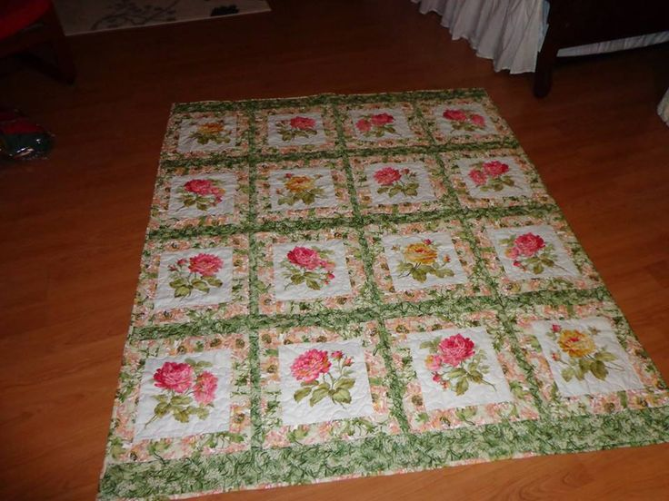 A simple rose quilt - sold to Tonya Griffin