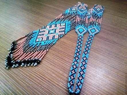 #neckpiece #handmade #beads