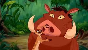 """I got Timon & Pumbaa from """"Lion King""""! Who's Your Disney Best Friend? Even if you have a rocky past, these two will take you in and accept your friendship, no matter the difference in your upbringing. Timon and Pumbaa also serve as much needed comedic relief in times of sadness."""