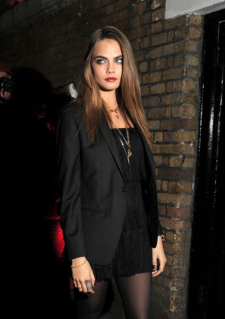 cara-made-me-do-it: Cara Delevingne at the YSL Beaute: YSL Loves Your Lips launch at Selfridges in London | 20.01.15