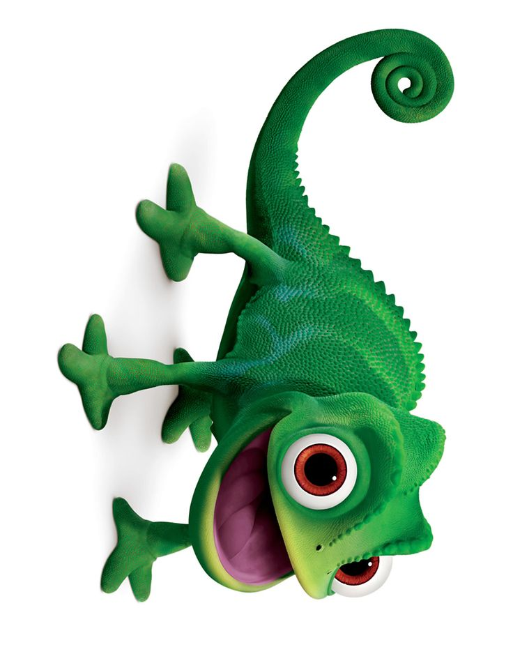 Disney TANGLED - Pascal ( I love this little guy! )