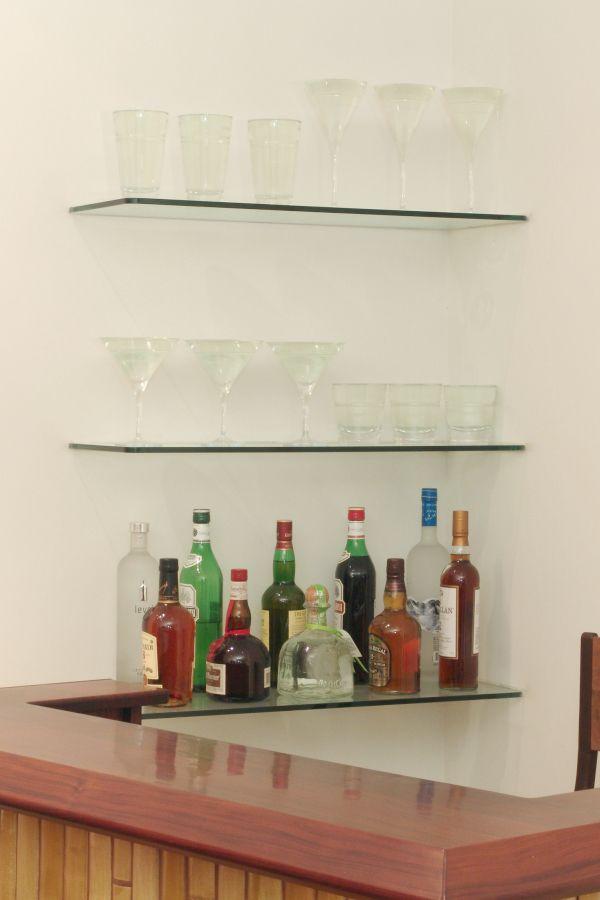 12 best Glass shelves images on Pinterest   Glass shelves, Shelves ...