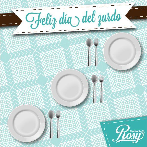 #FechasImportantes Día del zurdo #Puebla #Postres  www.facebook.com/ElPostreDeRosy