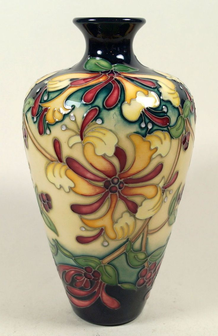 76 Best Images About Moorcroft Pottery On Pinterest Orchid Flowers Auction And Vase