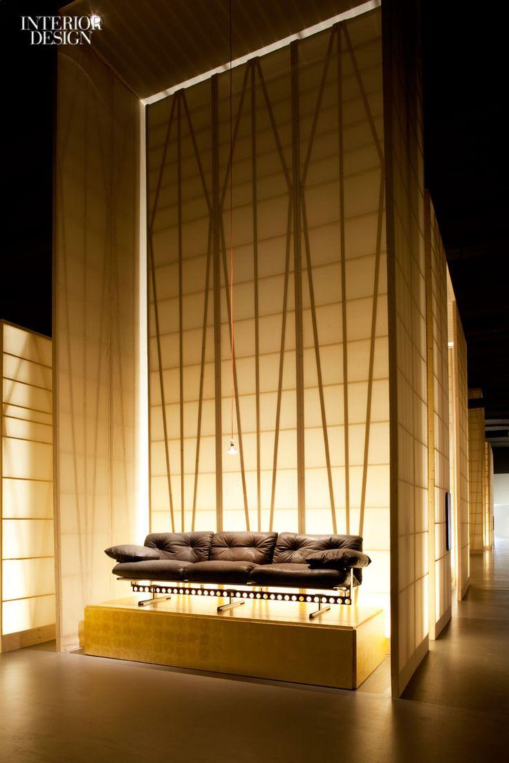 At the Poltrona Frau Museum in Tolentino, Italy, Michele de Lucchi ...