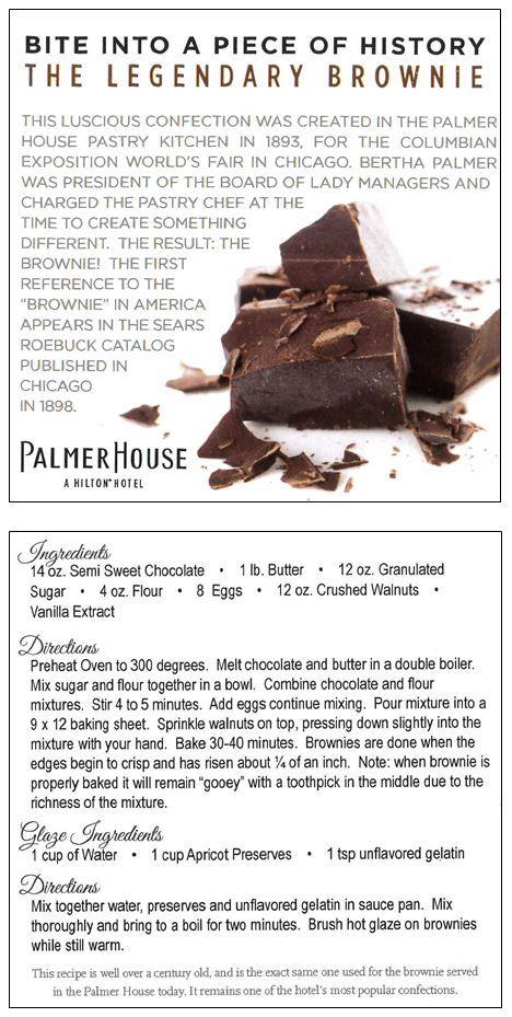 Palmer House Brownie